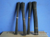 Diffuser Oilのための黒いColored Bamboo Natural Rattan Reed Diffuser Refill Sticks