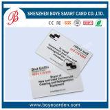 Biglietto da visita di plastica approvato dello SGS per il cliente