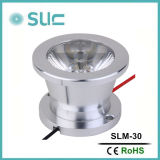3W Silver SMD LED DOT Light met Competitive Price