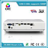 Proiettore portatile del DLP 3D di prezzi poco costosi video