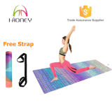 Hoog - de Matten van de Yoga van de Oefening van de dichtheid met de Vrije Houder van de Totalisator