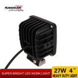 "4 "" 27Wクリー語High Output IP68 Square LED Work Light"