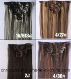 Higt Qualitätssynthetische Remy Haar-Klipps in den Haar-Extensionen