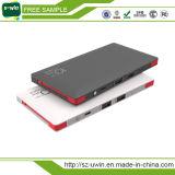 Salida dual micro Bulid en cargador del teléfono 4000mAh/10000mAh del cable