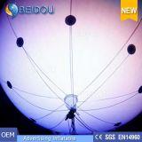 Grande piccolo dirigibile gonfiabile del dirigibile dell'elio RC del LED che fa pubblicità all'aerostato