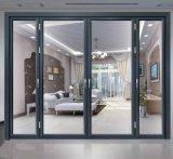 Puerta de plegamiento exterior fuerte de Topbright para Shopfront con el vidrio inferior de E