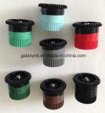 Aspersor de pop-up de plástico com bico de dispersão