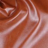 Couro revestido do PVC do Synthetic Animal-Amigável da alta qualidade para a mobília do sofá