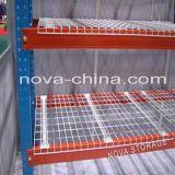 Decking del acoplamiento de alambre para los estantes de acero de la paleta del soporte con