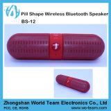 환약 모양 소형 휴대용 핸즈프리 무선 입체 음향 Bluetooth 스피커
