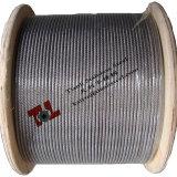 316 7X7 1.5mmのステンレス鋼ワイヤーロープ