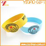 Eco freundliches Silikon-Uhrenarmband für Förderung-Geschenk (YB006)
