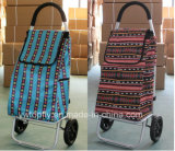 Bewegliche Einkaufen-Laufkatze mit Aluminiumrohr-Rahmen-Gepäck-Karre