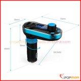 FM Übermittler Bluetooth, Bluetooth Kopfhörer mit Radiospieler MP3-FM, Bluetooth FM Radio-USB-Ableiter-Kartenleser-Lautsprecher