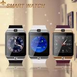 SIMスロットBluetoothのスポーツの腕時計の電話が付いているDz09スマートな腕時計