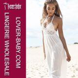 섹시한 최신 여자 비키니 Beachwear (L38206)가 꽃 빈에 의하여 코바늘로 뜨개질하 뜨개질을 한다