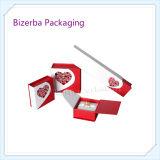 Rectángulo de regalo de papel rígido profesional del embalaje de la joyería para empaquetar