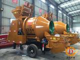 Hbt30c-i Spiraalvormige Dunne modder en de Concrete het Mengen zich Pomp van de Aanhangwagen