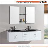 Vanité d'évier de Bath/Cabinet salle de bains de miroir/vanité haut glacée de salle de bains (T9001A)