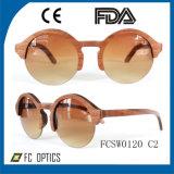 Glaces en bois fabriquées à la main faites sur commande de /Bamboo de lunettes de soleil avec la lentille polarisée