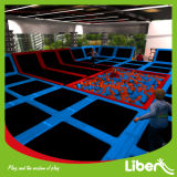 O Suppliers o mais atrasado Design Indoor Trampoline Center para Sale
