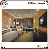 Formato del sofà di legno del corridore della base dell'hotel della regina