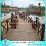 Quarto de bambu pesado tecido 50 da casa de campo do revestimento do Decking costa ao ar livre de bambu