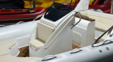 22.3feet Rib680 배 Hypalon PVC를 가진 팽창식 배 어선 엄밀한 팽창식 배