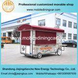 De de mobiele Aanhangwagen van het Voedsel/Vrachtwagen van het Voedsel met Ce voor Verkoop