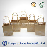Gedruckte Packpapier-Minihandtasche