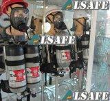 Auto-Rescate de aire equipo de respiración autónomo compuesto tanque de aire