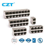 UL Approved RJ45 com Tranformer Jack