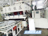 PLC de Plaat die van de Deur van het Staal van de Controle Hydraulische Pers in reliëf maken
