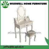 بيضاء تفاهة [درسّينغ تبل] بدون كرسيّ مختبر