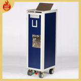 8 Wheels Aluminium Airplane Airline Aircraft Beverage Waste Cart