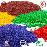 La couleur a réutilisé les granules de blanc de HDPE réutilisés par granules de HDPE