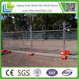 Австралийская загородка конструкции горячего DIP стандарта 2.1X2.4m гальванизированная временно