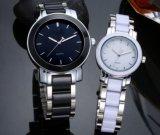 Планка стали wristwatch кварца диаманта пар способа керамическая