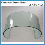 12мм Согнутое Закаленное Стекло для Мебели с Сертификатом ISO / CE / SGS
