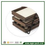 Tratamento especial da caixa de madeira da pintura retro
