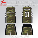 Basquetebol cheio Jersey do Sublimation de Healong