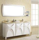 Vanità europea della stanza da bagno di legno solido