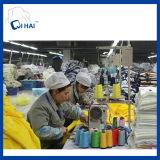 100%年の綿の糸の染められたくずくまの表面タオルの製造者