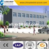 Modèle facile d'immeuble de bureau de structure métallique de Multi-Étage de construction de coût bas