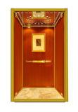 Pequeño elevador cómodo del pasajero del hotel