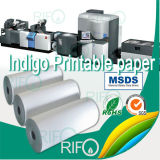 Der Fabrik-Rnd-54 bedruckbarer BOPP Chemiefasergewebe-Film Großverkauf-des Indigo-