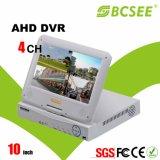 完全な720p 10インチLCDスクリーンの機密保護Ahd DVR (SA-WL04)