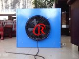 El escape del ventilador de la calefacción con agua caliente para el efecto invernadero
