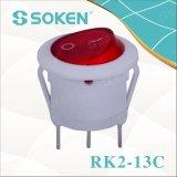 Soken Rk2-13c redondo en del interruptor de eje de balancín