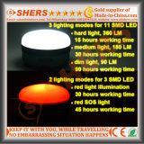 Batterie au lithium 3.7V8800mAh légère rechargeable imperméable à l'eau de la lumière S.O.S. de travail de 5W DEL